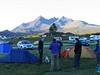 Camping at Sligachan, Skye