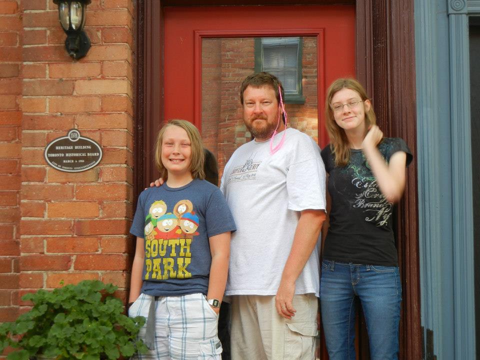 Jake, me and Sam