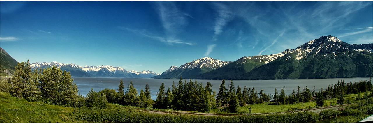 Trading Bay south of Anchorage, AK