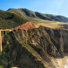 Coast of CA going to Big Sur, which is just at the end of the photo.  This bridge is a popular shot but from the other side