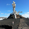 Lanzarote's Monumento al Campesino, dedicated to the inginuity and labour of the farmers who actually managed to grow stuff on Lanzarote's lunar like surface.