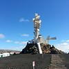 Lanzarote's Monumento al Campesino.