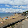 A view down the beach at Puerto Del Carmen.