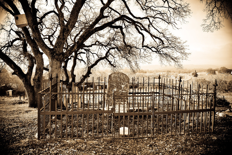 Cemetery at Chinese Camp