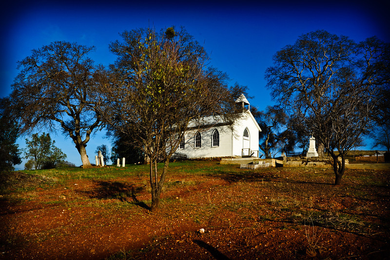 Church at Chinese Camp