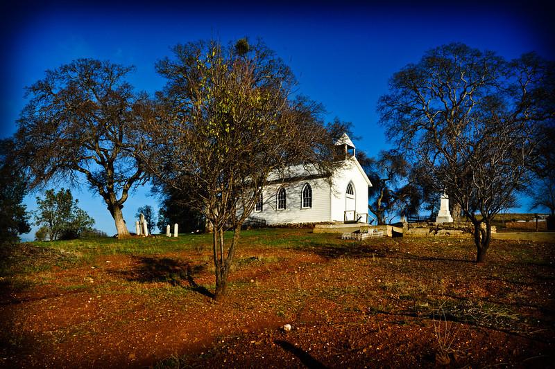 Church at Chinese Camp