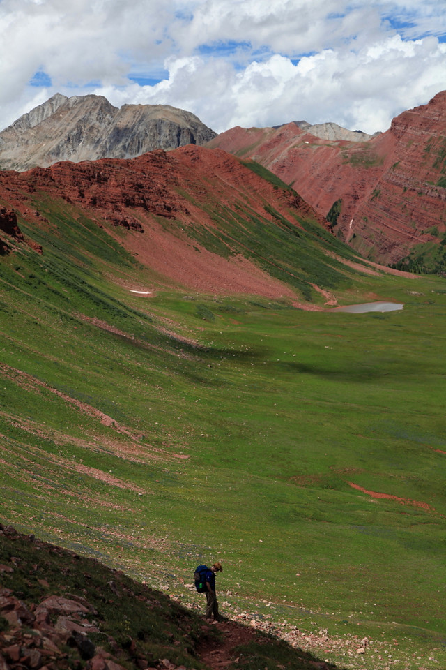 Descent from Frigid Air Pass into Fravert Basin