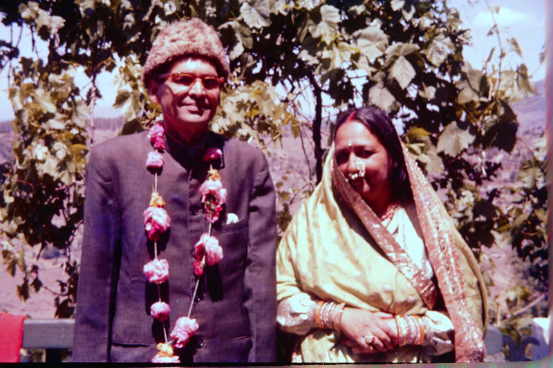 My beloved late grandparents (from left) K.C. Pant and Jayanti Pant