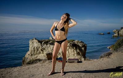 Sony A7-R RAW Photos of Bikini Swimsuit Model Goddess! Carl Zeiss Sony Sonnar T* FE 35mm f/2.8 ZA Lens! Malibu bluffs! Lightroom 5.3 !