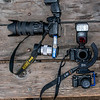 45surfer Bracket for Simultaneous Stills & Video! Nikon D800E + 70-200mm F/2.8 Nikkor Lens + Sony NEX-6 vs. Sony A7r + 35mm F/2.8 Carl Zeiss Lens + Sony NEX-6