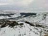 Looking down into Rosedale from Blakey ridge on a mild minus 5 degrees February morning