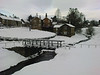Hutton - le- hole North yorks in February snow