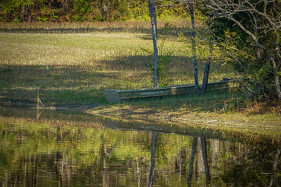 Boat across the pond at Smart Zoom and CIZ 600mm