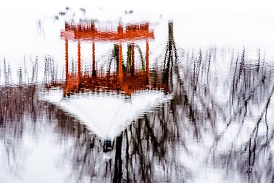 RobertEvans com  |  Minnesota Landscape Arboretum Reflection