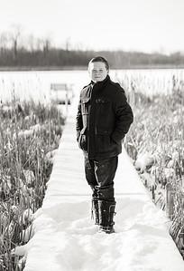 Robert Evans Winter KId