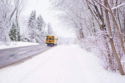 Robert Evans Winter Bus