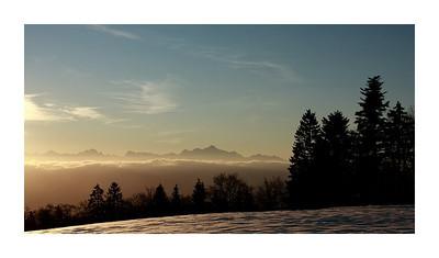 15-01-2012 Le Mont-Blanc depuis St Cergues