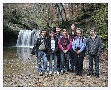 Sortie PB cascade du Hérisson 2011