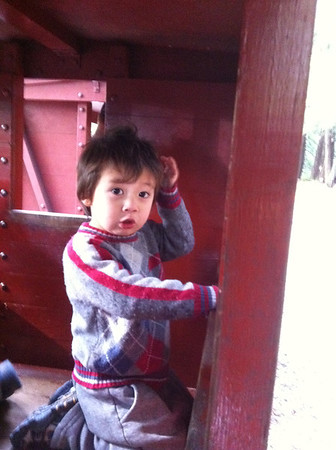 Sousa Boys at Redwood Valley Railway 012912