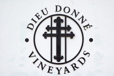 """3rd vineyard: Dieu Donne (""""God given"""") in Franschhoek"""