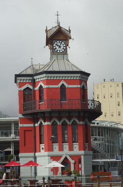 V & A Waterfront clock tower
