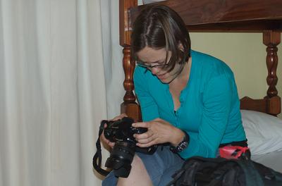 Camera preping