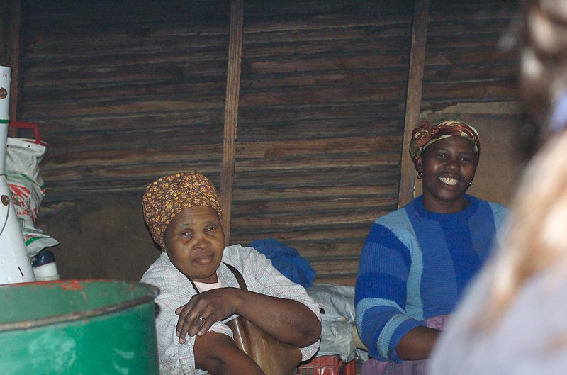 The owners of the township shebeens are always women