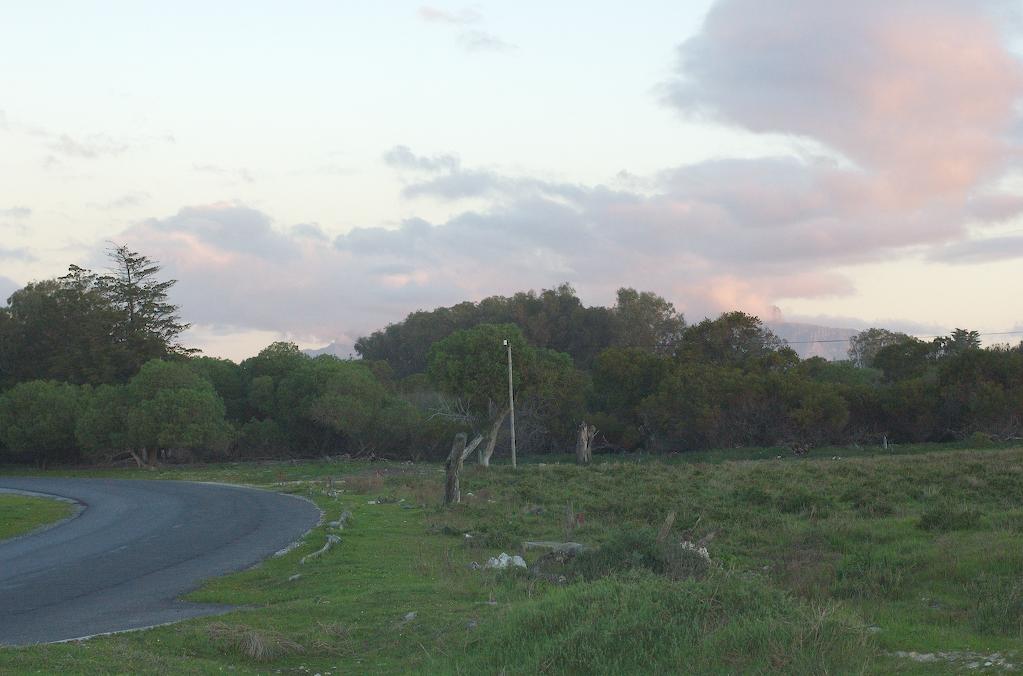 Robben Island at sunset