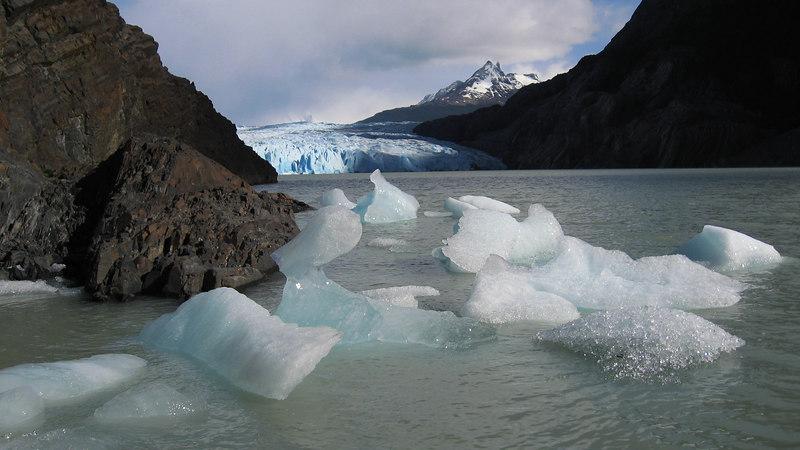Grey Glacier, Torres del Paine, Chile