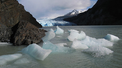 Grey Glacier, Torres del Paine, Chile