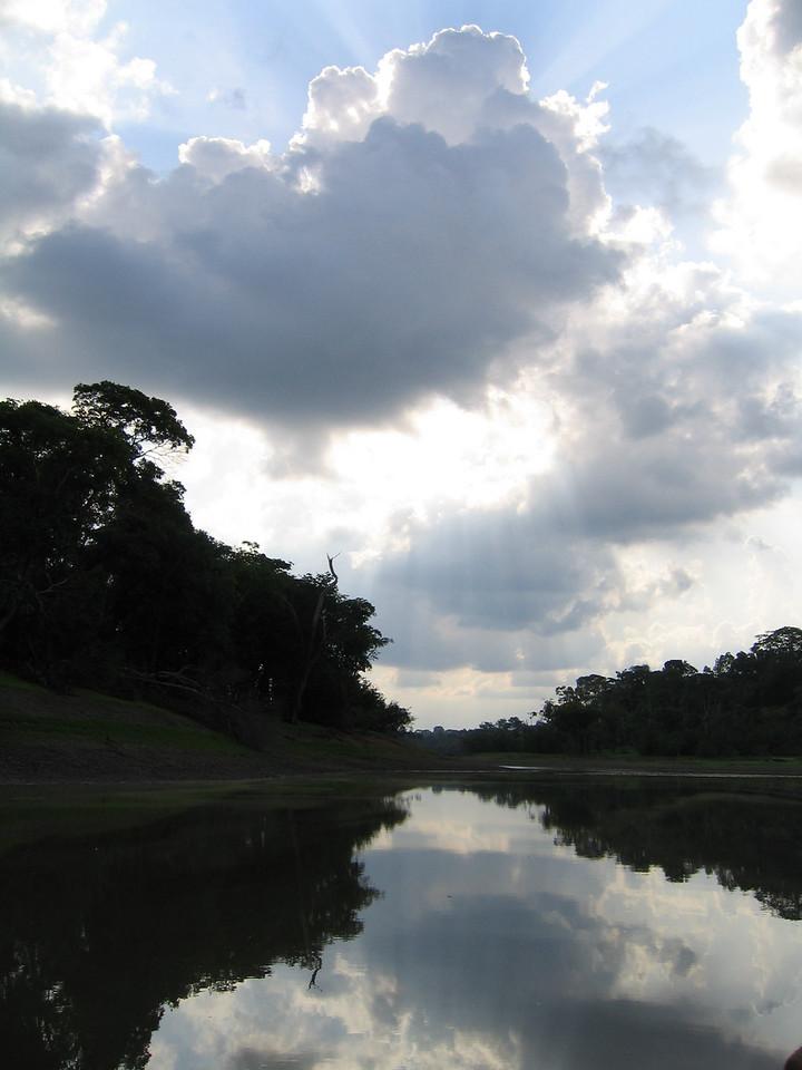 Sunrise in the Amazon, Brazil