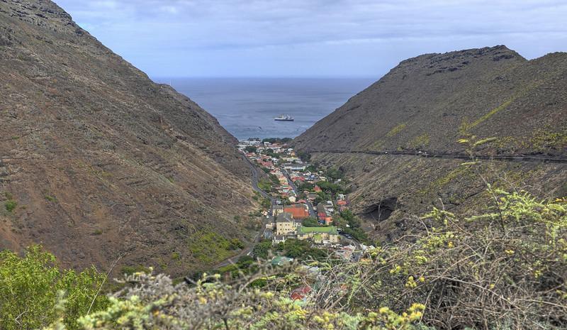 Georgetown, St. Helena Island, South Atlantic Ocean.
