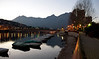 Dusk, Lecco, Italy.