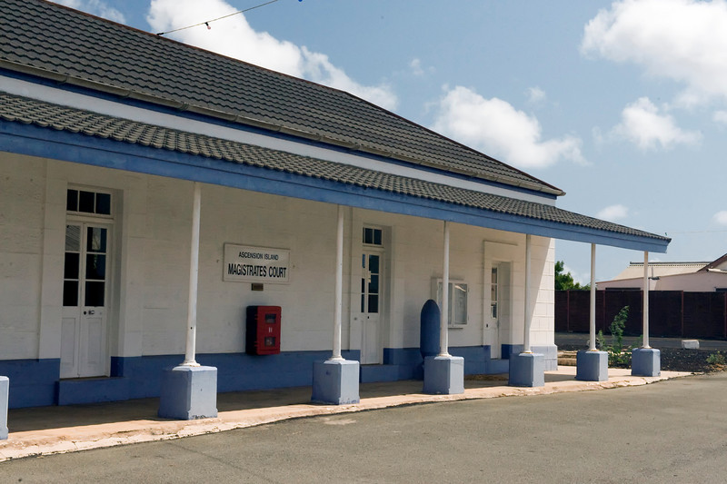 Magistrates Court, Georgetown, Ascension Island.