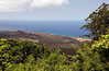 The view from Green Mountain, Ascension Island.