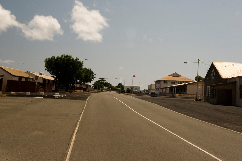 Georgetown, capital of Ascension Island.