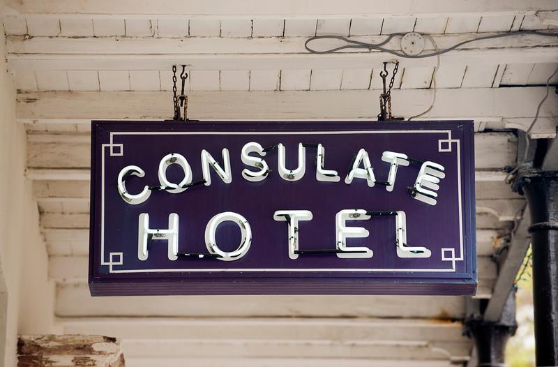 Consulate Hotel, Georgetown, St. Helena Island, South Atlantic Ocean.