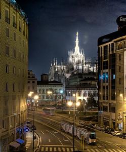 The Duomo, Milan, Italy.