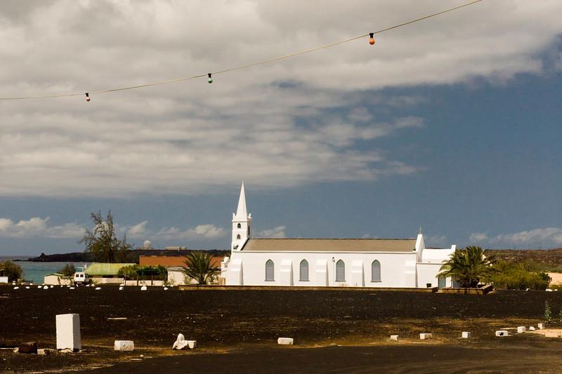 Church, Georgetown, Ascension Island.