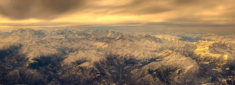The Swiss Alps HDR.