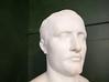Bust of Napoleon at Longwood House, St. Helena island, South Atlantic Ocean.