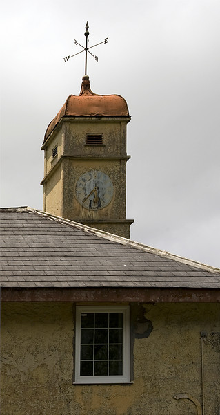 Old clock tower, Green Mountain, Ascension Island.