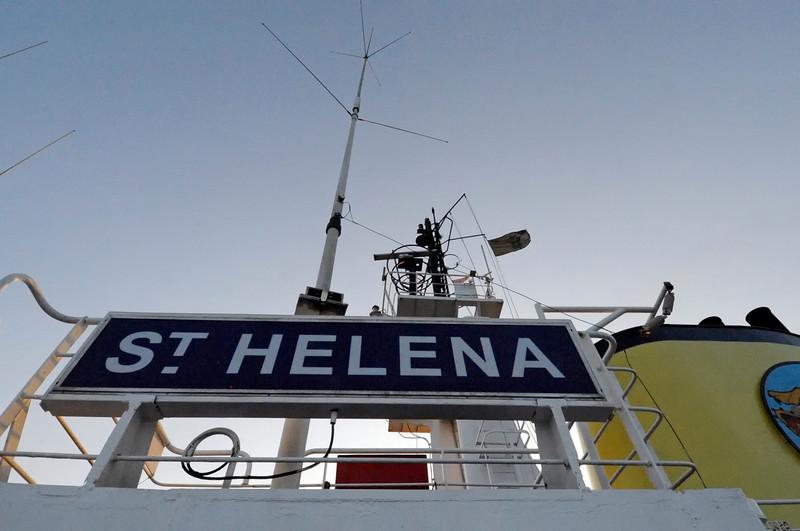 The Royal Mail Ship St. Helena