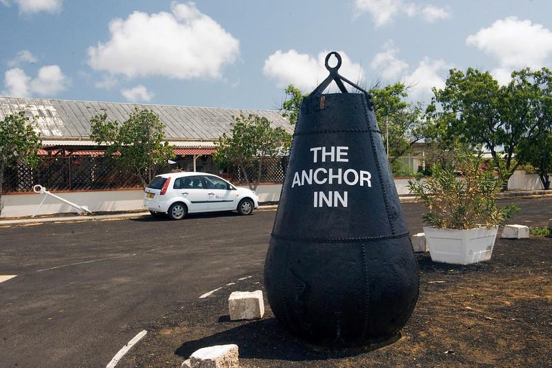 The Anchor Inn restaurant, Georgetown, Ascension Island.