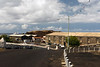 Dock area and RMS St. Helena, Georgetown, Ascension Island.