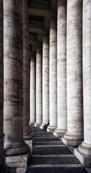 Relaxing, Vatican City.