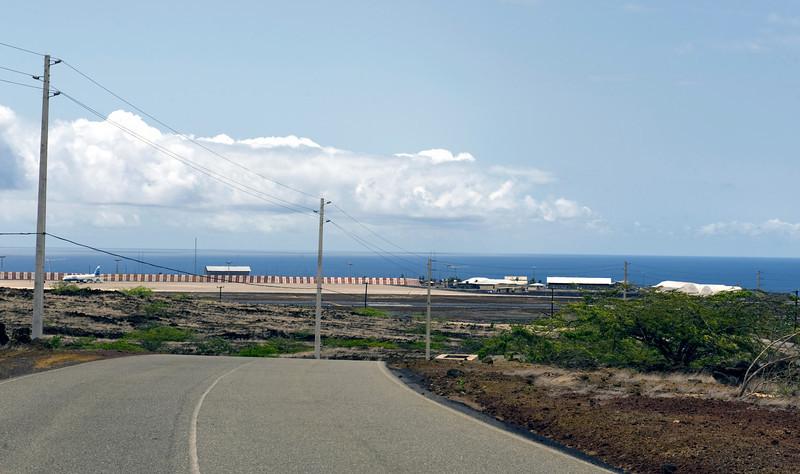Wideawake airfield, Ascension Island.