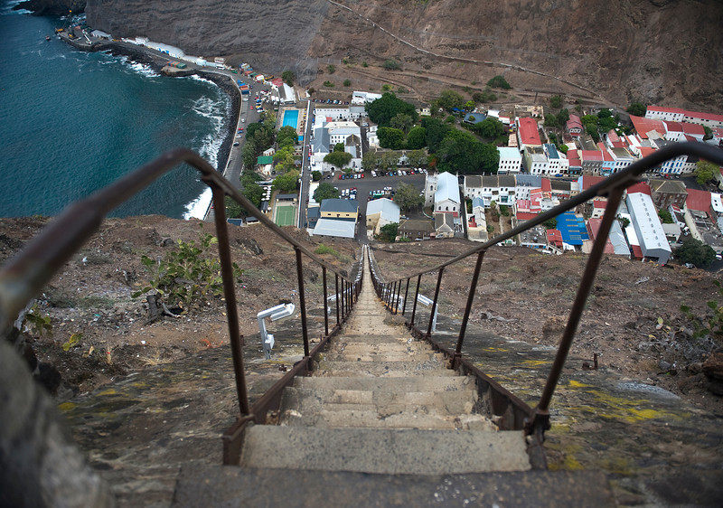 Jacob's Ladder, Georgetown, St. Helena Island, South Atlantic Ocean.