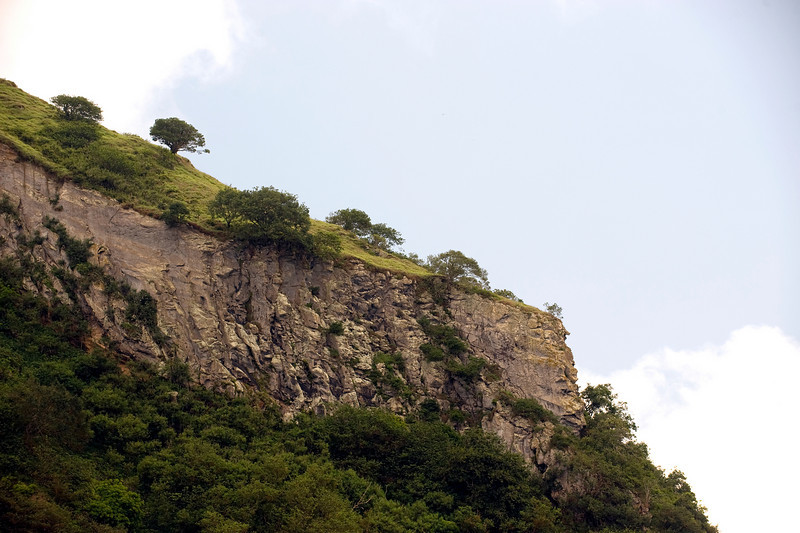 Cliff, Ascension Island.