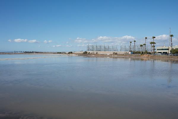 South Bay Salt Works SDG&E drainage rain impact 2-28-2018